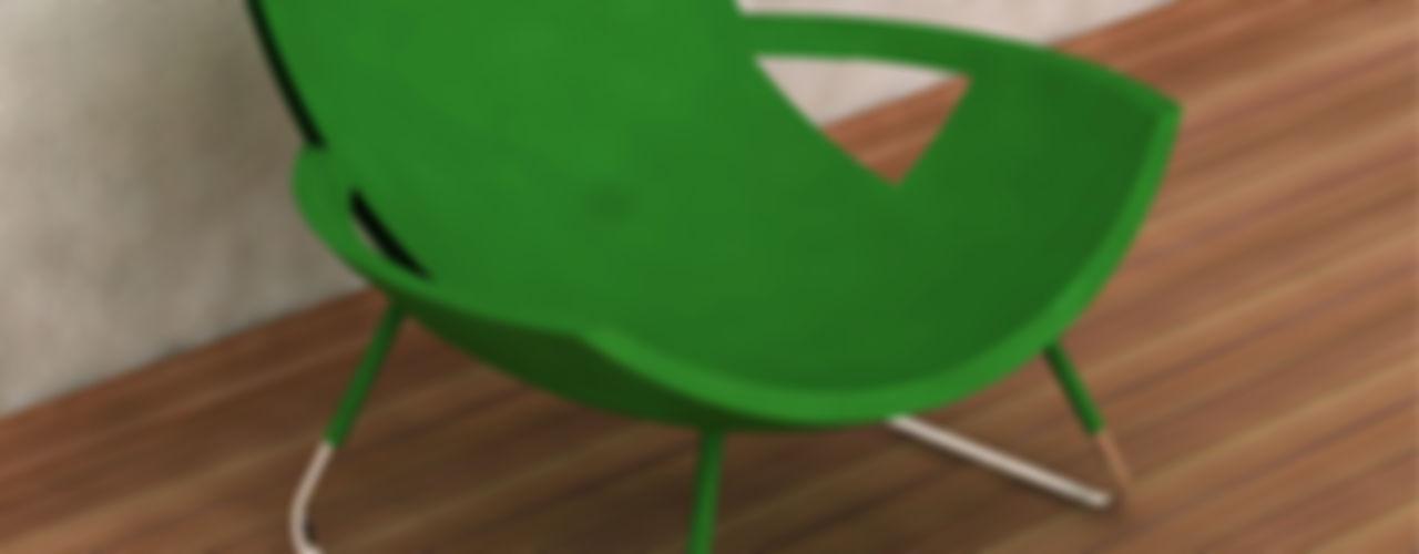 Preetham Interior Designer Vestíbulos, pasillos y escalerasSillones
