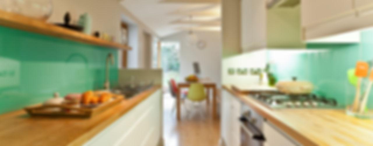 House remodelling in South Bristol Dittrich Hudson Vasetti Architects Nowoczesna kuchnia