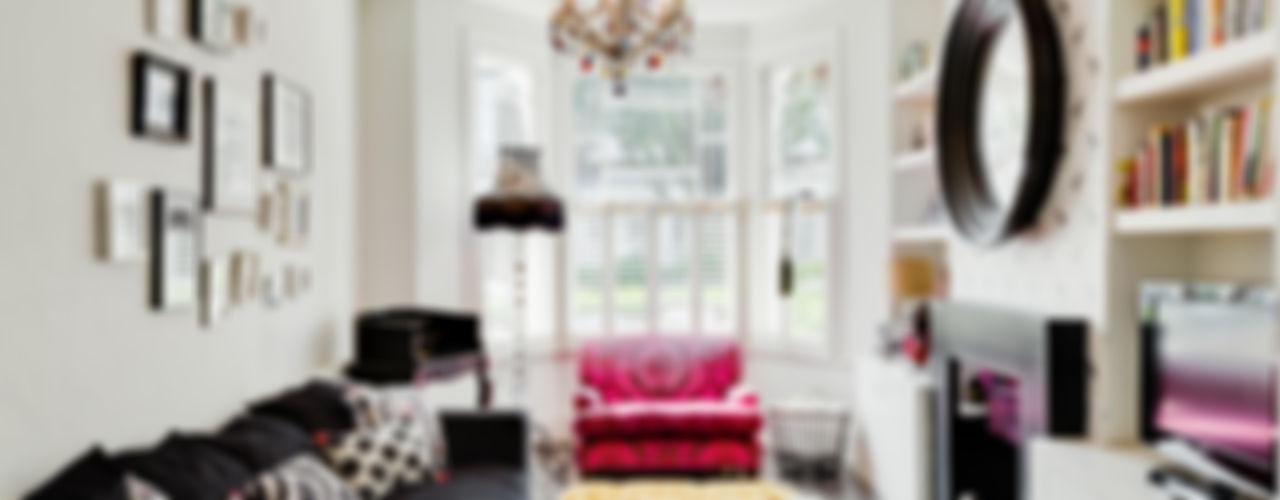 Queens Park House Honeybee Interiors Soggiorno eclettico