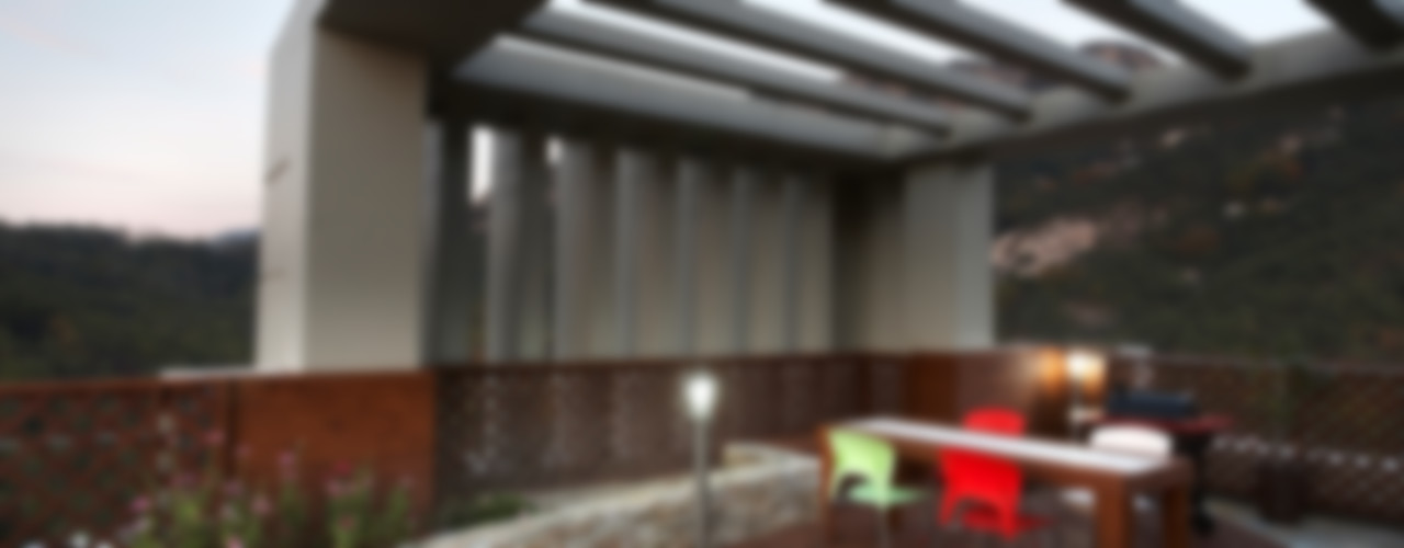 Hauan Balkon, Beranda & Teras Modern