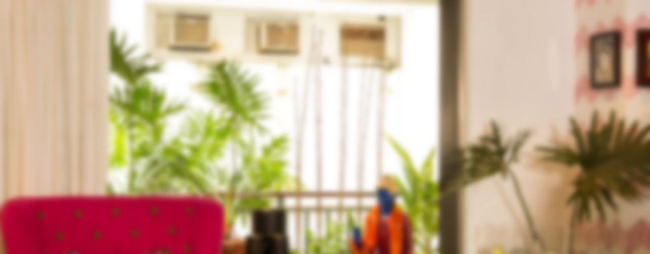 Eclectic Apartment The Orange Lane Salones de estilo asiático