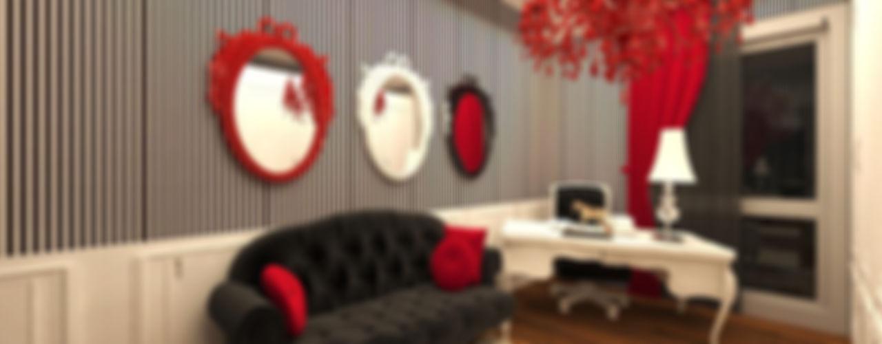Feng Shui Uygulama Meral Akçay Konsept ve Mimarlık Modern Çalışma Odası