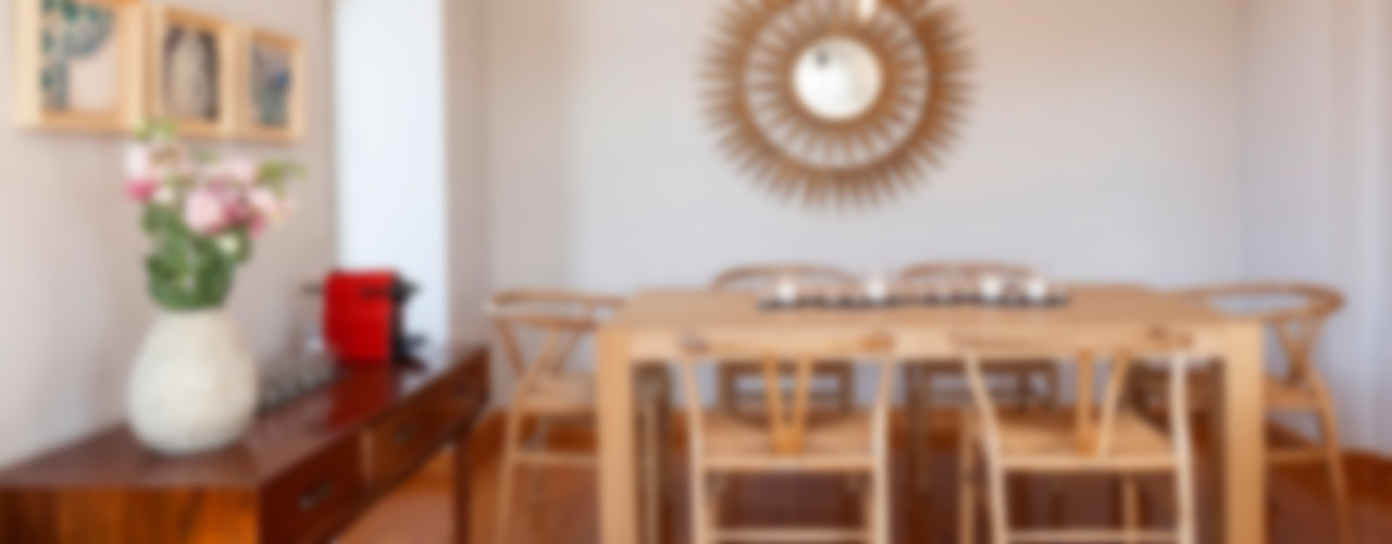 Decoração de apartamento particular Staging Factory Salas de jantar clássicas
