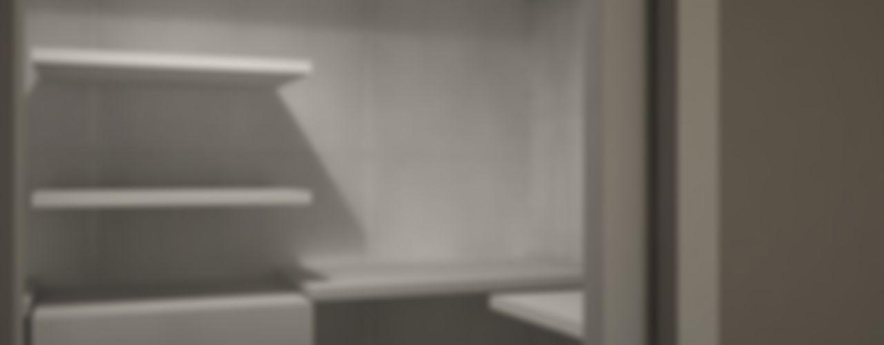Appartamento M&A CT home Camera da letto moderna