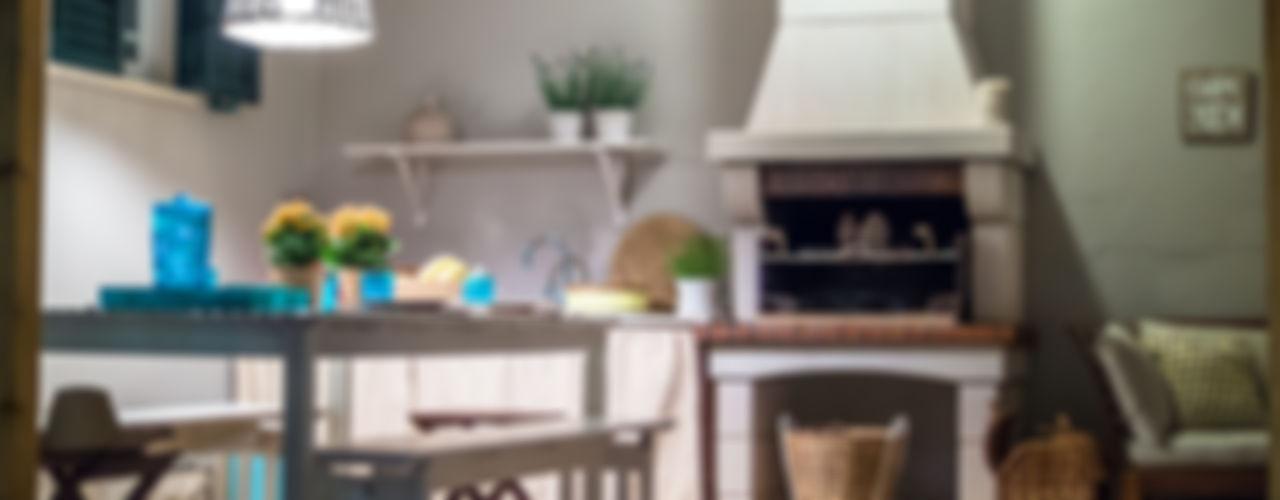MUDA Home Design Jardines de estilo rústico