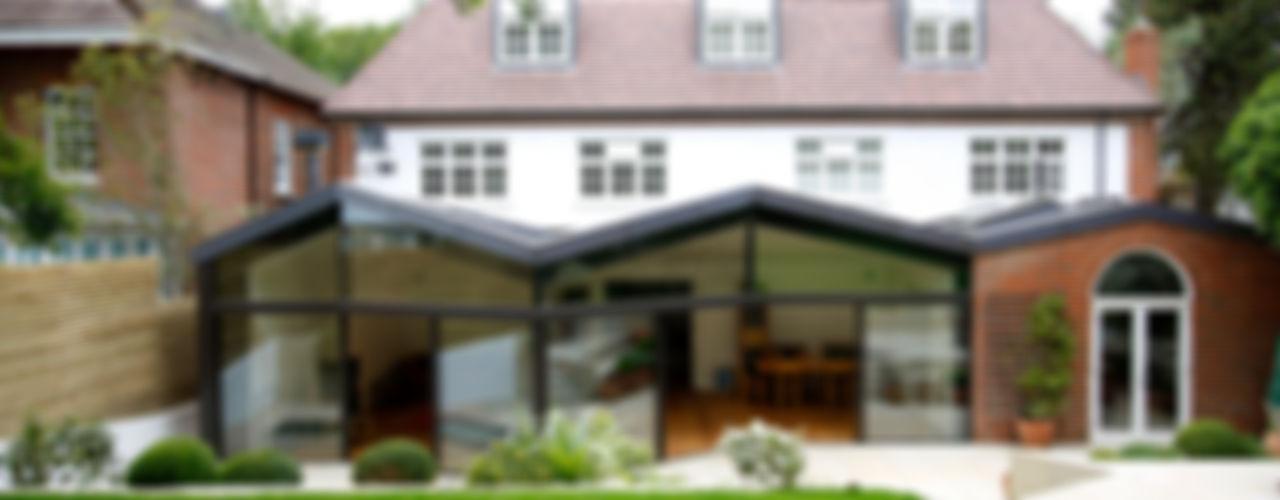 North London House Extension Caseyfierro Architects Salas de estar modernas