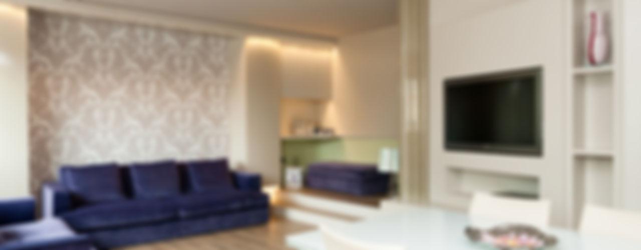 Casa_Clima_Valdagno Studiogkappa Soggiorno moderno