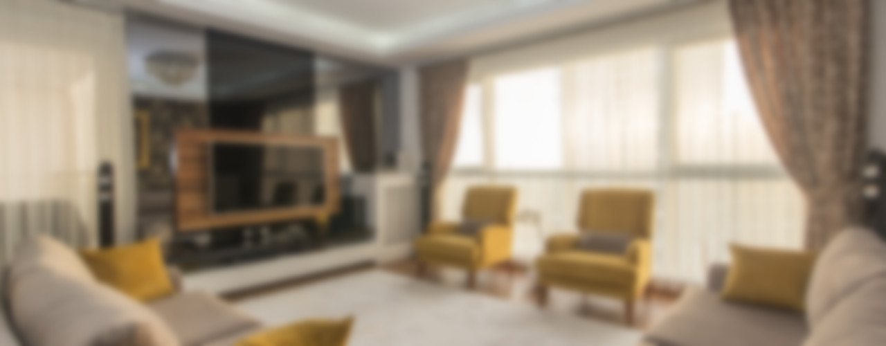PROJE MİMARİ DESTEK Trabcelona Design Modern Oturma Odası