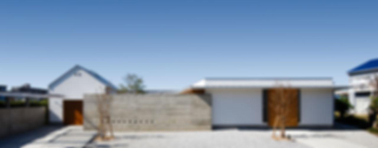 窪江建築設計事務所 現代房屋設計點子、靈感 & 圖片