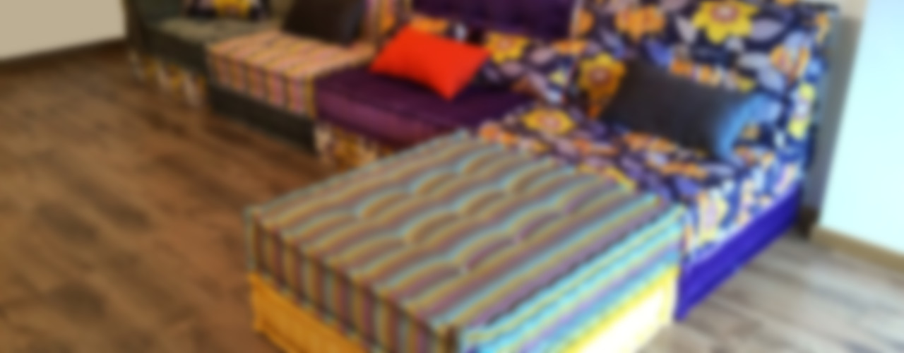 "Sofá modular modelo ""Craft"" - Arcade - Galicia LOOK & CUSHION SalonesSofás y sillones"