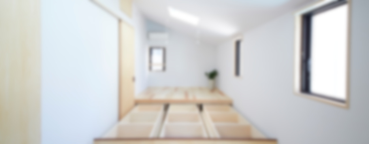 一級建築士事務所co-designstudio Modern style bedroom