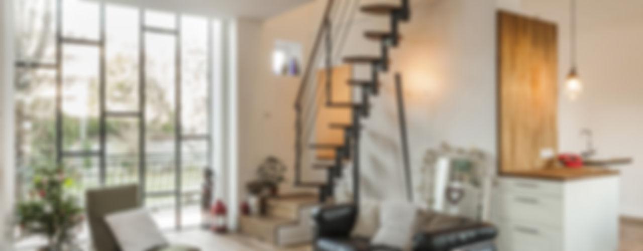 Extension HILAIRES - l'extension qui change tout. maéma architectes Salon moderne