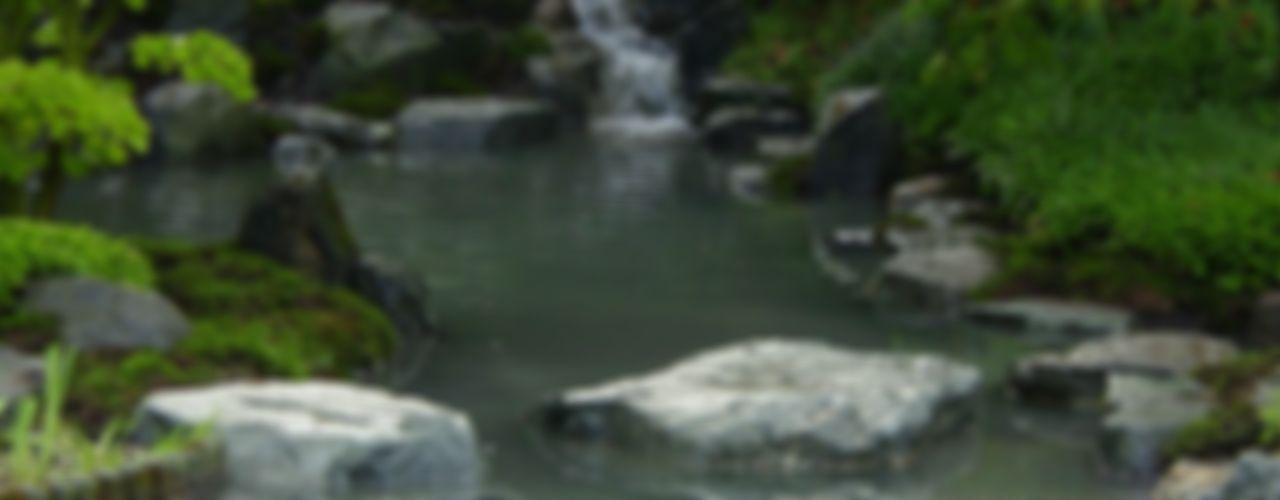 Wasser im Garten, Natur-Teiche, Schwimm-Teiche, Wasserfälle, Bachläufe, Tsukubai japan-garten-kultur Asiatischer Garten
