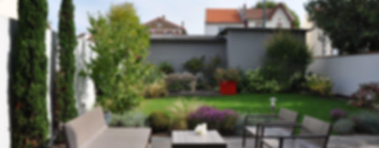 UNJARDIN DE VILLE GARDEN TROTTER Jardin moderne