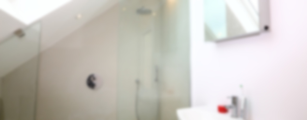 Single Storey Extension and Loft Conversion, Lance Rd London Building Renovation Modern bathroom
