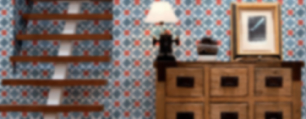 Tiles 'Digitally Printed' Wallpaper Collection Paper Moon Murs & SolsPapier peint