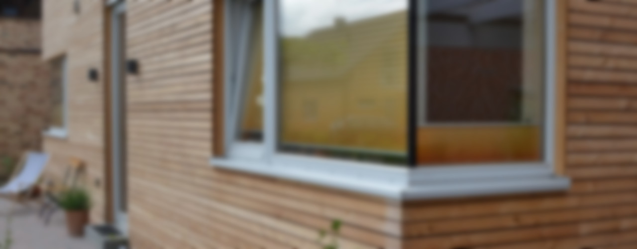 """Haus """"F"""", Havixbeck-Hohenholte arieltecture Gesellschaft von Architekten mbH BDA Holzhaus"""