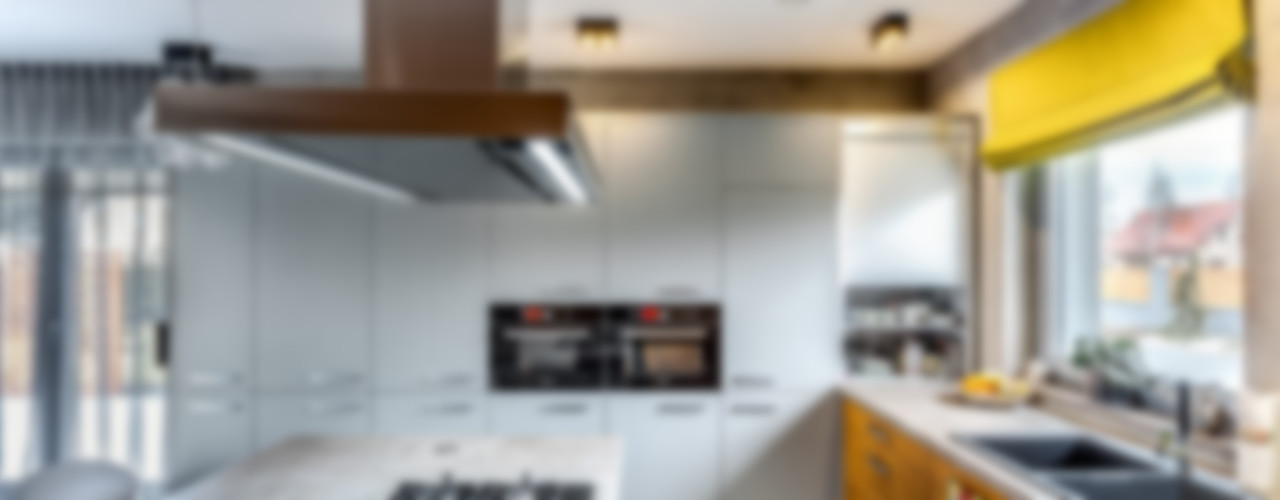 COCO Pracownia projektowania wnętrz Cocinas de estilo minimalista
