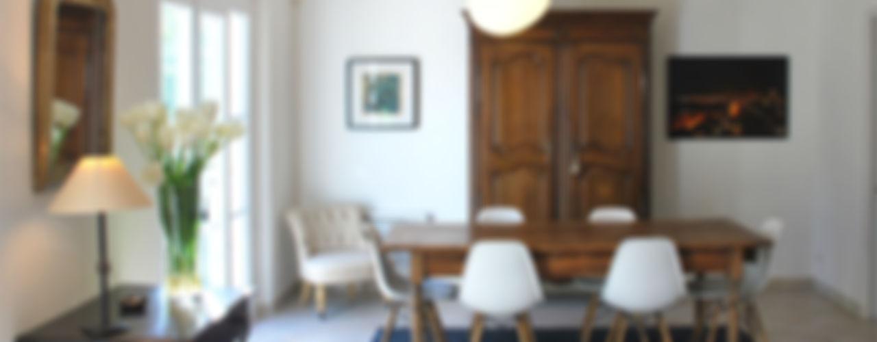 Une maison à Toulon FLEURY ARCHITECTE Salle à manger classique