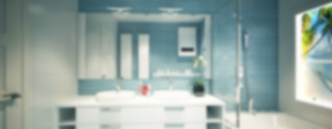 Polovets design studio Minimalist bathroom