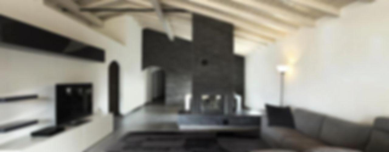 Various Cavalcanti installs Cavalcanti Modern living room