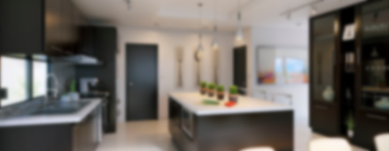 E2 House arQing Minimalistische Küchen