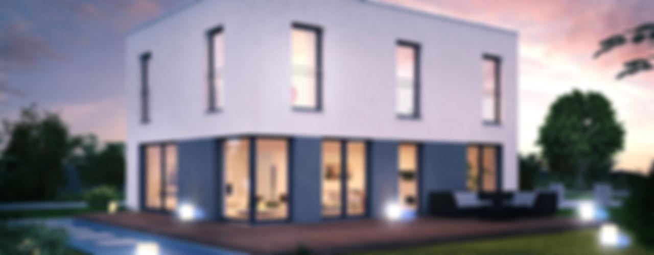 Dennert Massivhaus GmbH モダンな 家