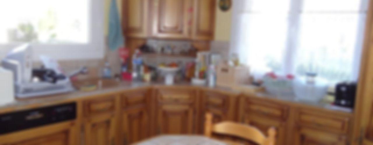 les cuisines de claudine CocinaArmarios y estanterías