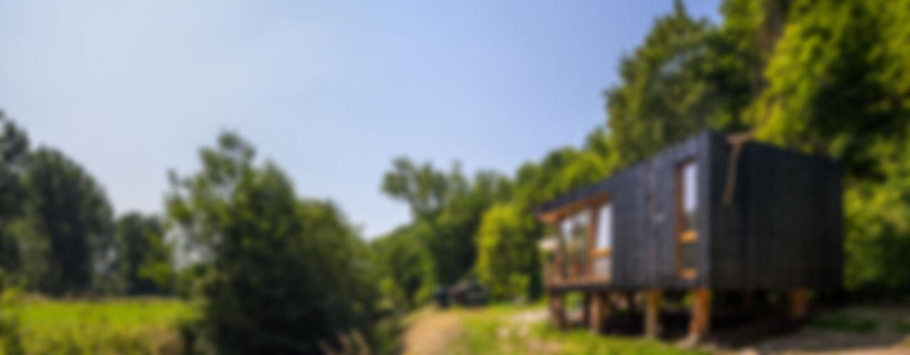 Zwarthout Shou Sugi Ban Casas modernas