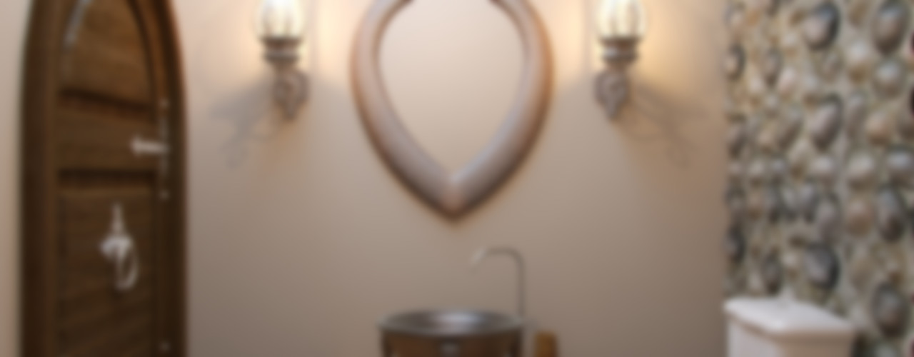 Студия дизайна интерьера Маши Марченко Rustic style bathroom