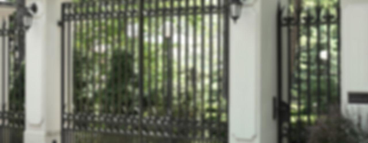 Brama wjazdowa - wzór G101 ALMET Kowalstwo Artystyczne OgródOgrodzenia i mury