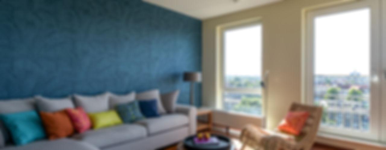 Aileen Martinia interior design - Amsterdam غرفة المعيشة