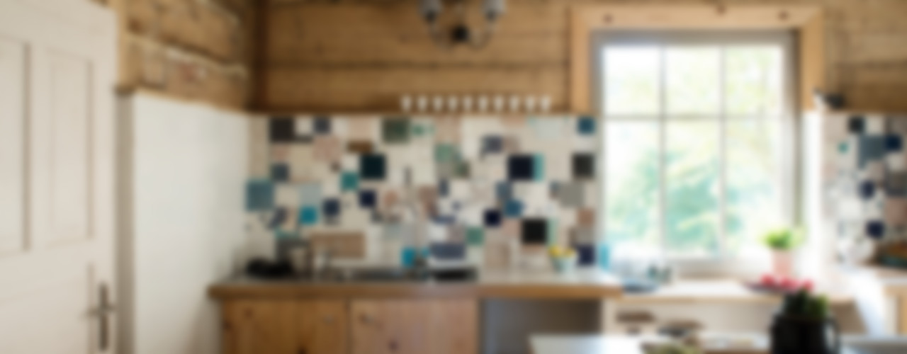 deco chata Country style kitchen