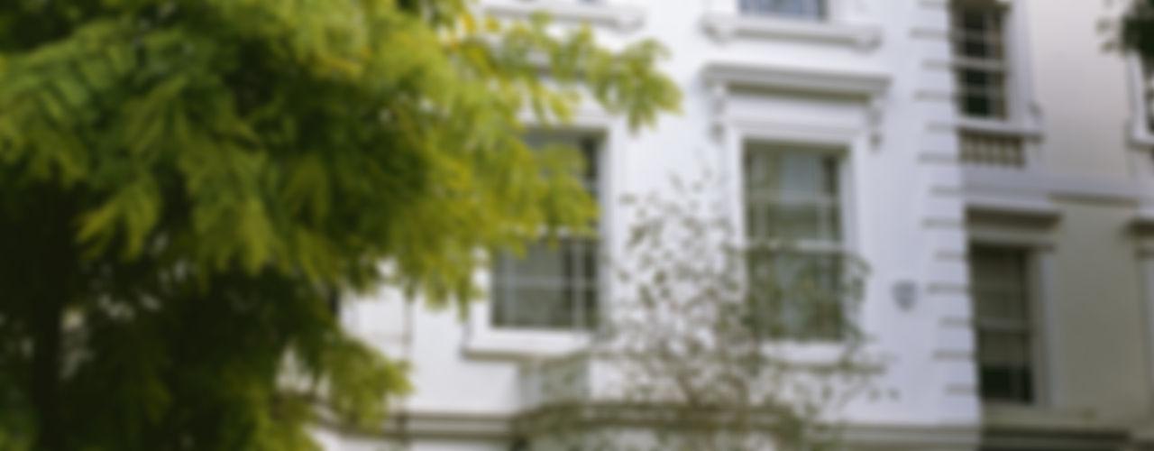 Notting Hill Villa Space Alchemy Ltd クラシックデザインの キッチン