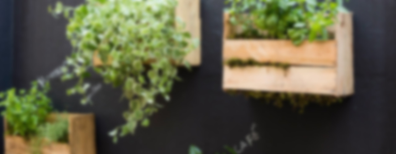 Luiza Soares - Paisagismo Rustic style garden Wood