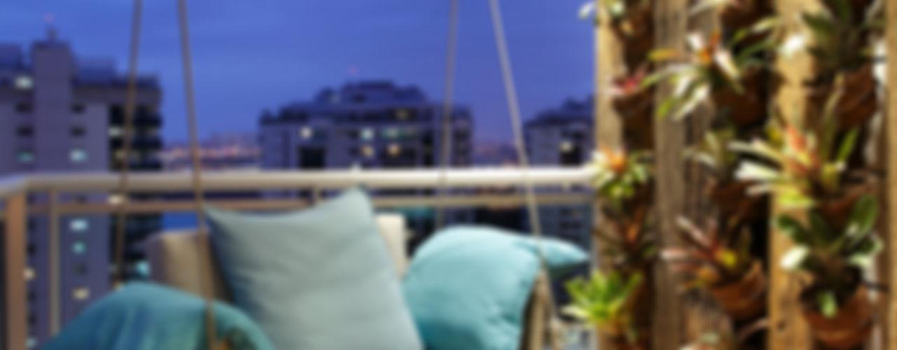 BC Arquitetos Balcones y terrazas de estilo moderno