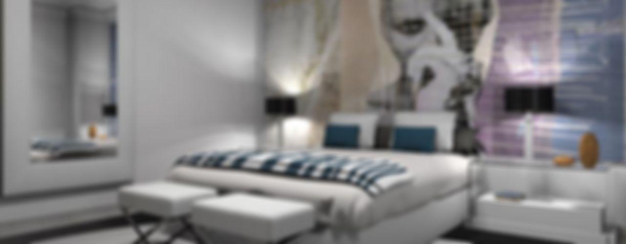 AZD Diseño Interior Dormitorios modernos