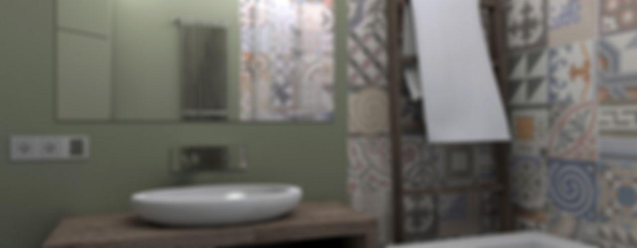 ИНТЕРЬЕР-ПРОЕКТ.РУ Industrial style bathroom