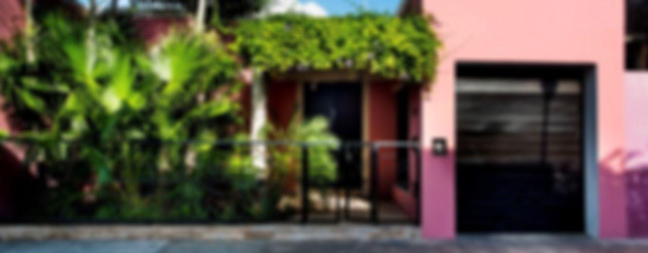Taller Estilo Arquitectura Moderne Häuser Pink