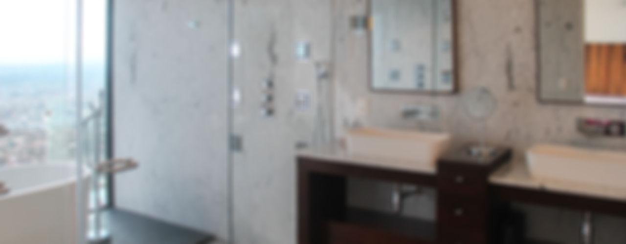 aaestudio Modern Banyo Mermer Beyaz
