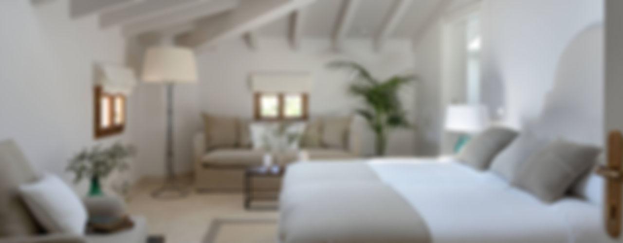 HOTEL CAL REIET – THE MAIN HOUSE Bloomint design Dormitorios mediterráneos Beige