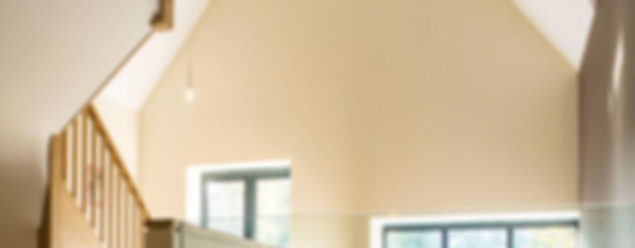 Princes Way Frost Architects Ltd Modern corridor, hallway & stairs
