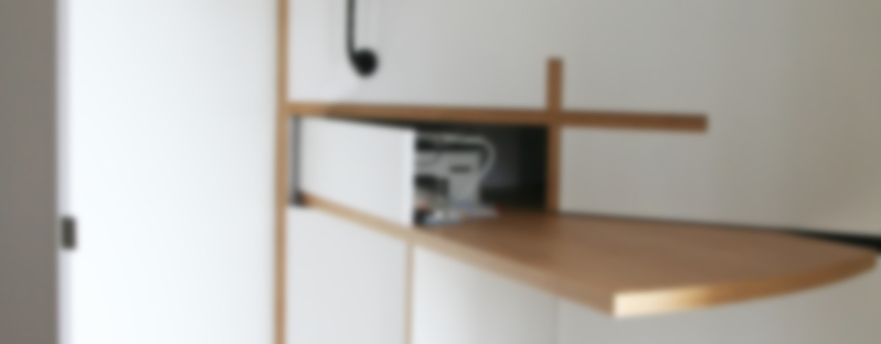 Atelier Nadège Nari Рабочий кабинет в стиле модерн