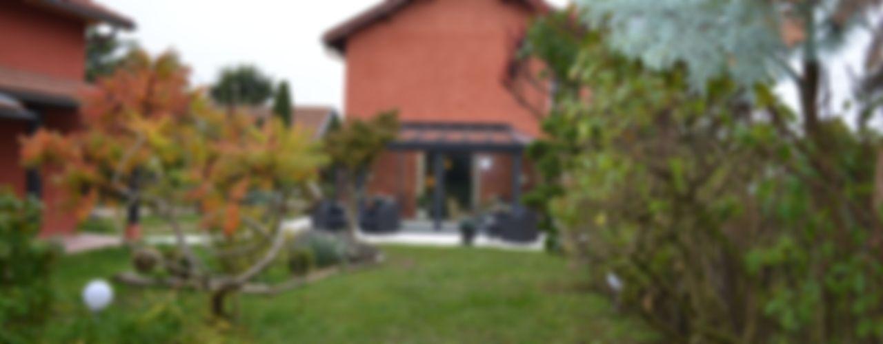 KREA Koncept Balcone, Veranda & Terrazza in stile eclettico
