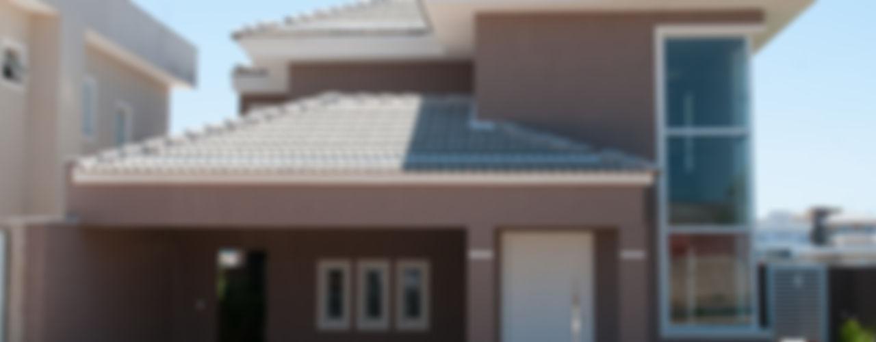 Angelica Pecego Arquitetura オリジナルな 家