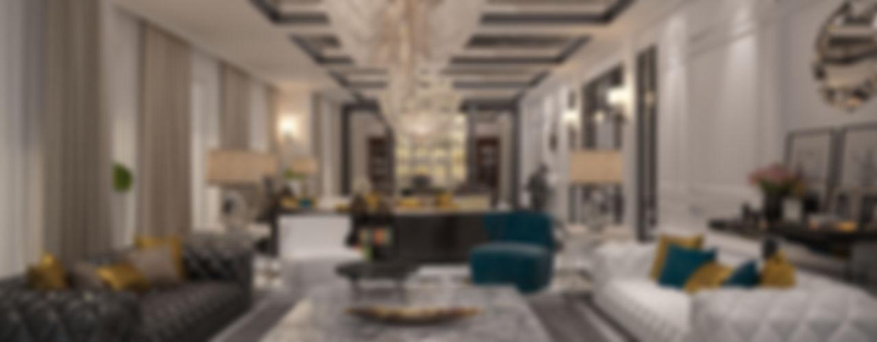 Mert Duyal - Mc Roher Design Studio Living roomLighting