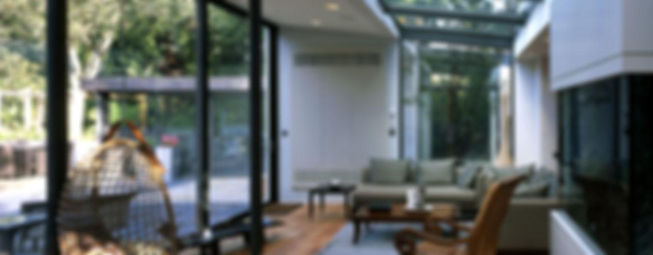 Compton Avenue, Highgate KSR Architects Living room