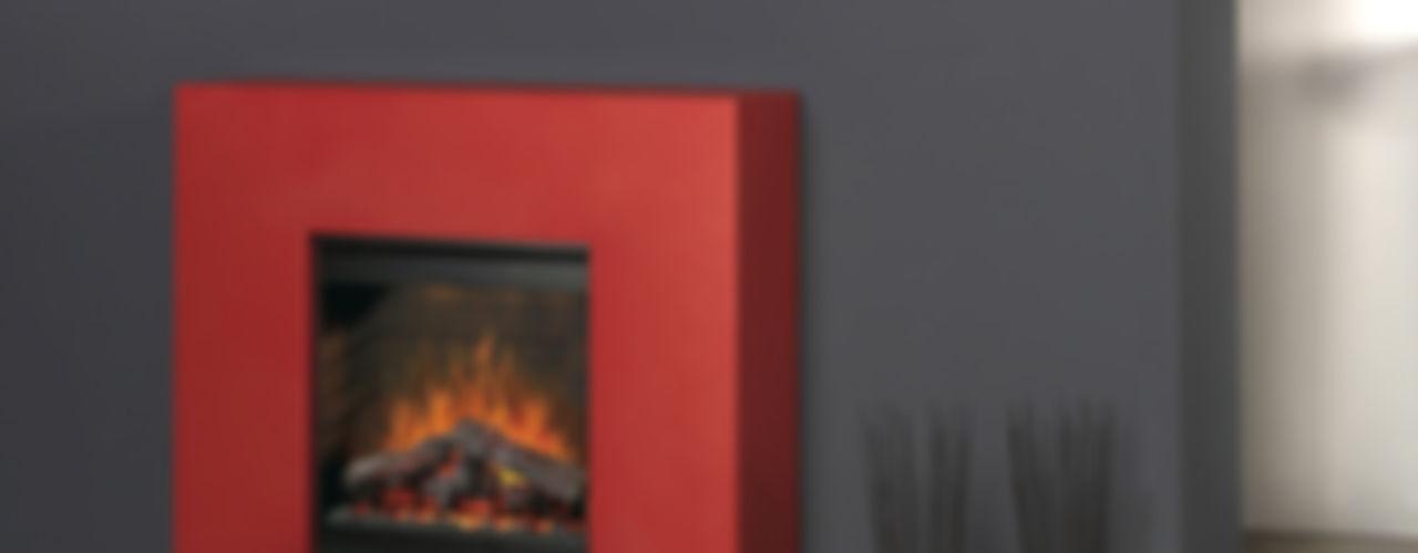 Breeze muenkel design - Elektrokamine aus Großentaft Living roomFireplaces & accessories