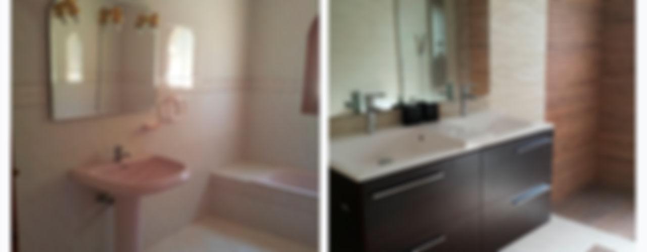 chalet en Javea torradoarquitectura Baños de estilo moderno