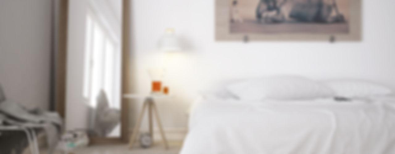 Eloisa Conti Visual BedroomBeds & headboards